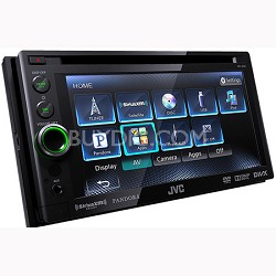 "DVD/CD/USB Receiver with 6.1"" WVGA Touch Panel Monitor (KWAV61)"