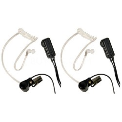 AVPH3 Transparent Security Headsets with PTT/VOX (Pair)