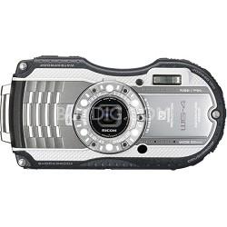WG-4 16MP HD 1080p Waterproof Digital Camera - Silver - OPEN BOX