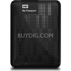 My Passport 1 TB USB 3.0 Portable Hard Drive  (Black) Refurbished Unit
