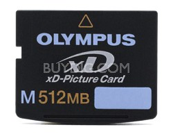 M512MB xD Memory Card