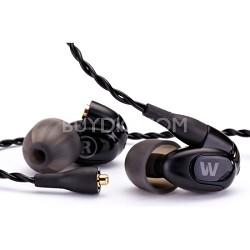 W20 Dual-driver Balanced Armature Earphones, 3-Button Apple Control + Mic -78502