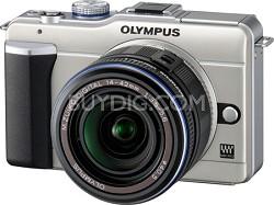 PEN E-PL1 with 14-42mm Lens Digital SLR Kit (Gold)