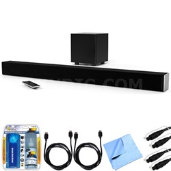 "SB3831-D0 SmartCast 38"" 3.1 Sound Bar System w/ Essential Accessory Bundle"