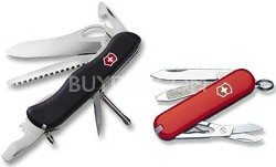One Hand Trekker with Free Classic Knife