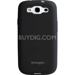 Soft Gel Case for Samsung Galaxy S III Black