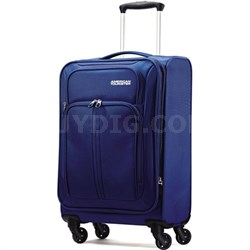 "Splash Spin LTE 20"" Blue Spinner Luggage - OPEN BOX"