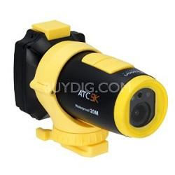 ATC 9K Full 1080P HD Water Resistant Action Camera w/ G Force Sensor