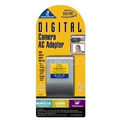 Digital Concepts AC Adapter for Minolta/Casio/HP 6V Digital Cameras