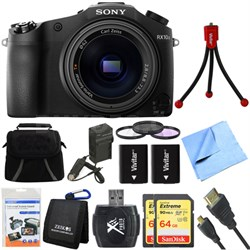 DSC-RX10M II Cyber-shot 4K Video 20.1 MP Digital Still Camera Deluxe Bundle