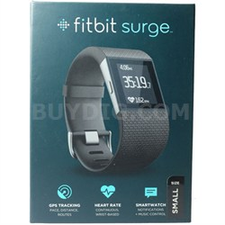 "Surge Fitness Superwatch, Black, Small (5.5-6.3"") - OPEN BOX"