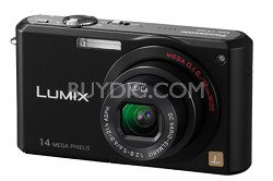 DMC-FX150K - Premium Compact 14.7 Megapixel Digital Camera (Black) - OPEN BOX