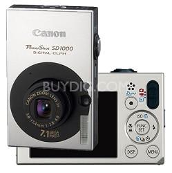 Powershot SD1000 Digital ELPH Camera (Black)