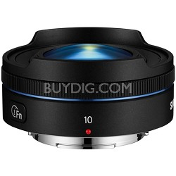 NX 10mm f/3.5 Fisheye Lens - Black