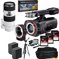 NEX-VG900 Full-Frame Full Frame HD Camcorder + SAL 70-200 f2.8 Full Frame Lens
