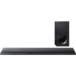 HT-CT390 Ultra-Slim 2.1 Channel Sound Bar with Bluetooth - OPEN BOX