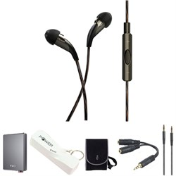 X20i Earbuds with Mic and Music Controls for Apple With Fiio A5 Amp and Accy's