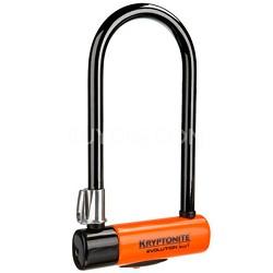 """Evolution Series 4 Standard Bicycle U-Lock w/ Transit FlexFrame Bracket (4""""x9"""")"""