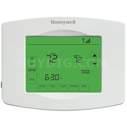Wi-Fi 7 Day Programmable Touchscreen Thermostat - White