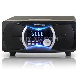 BLUET3 Powered Bluetooth Speakers Black