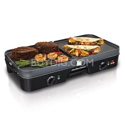 38546 Griddle/Grill combo with Removable Grids