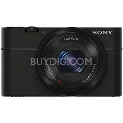 Cyber-Shot DSC-RX100 Digital Camera Refurbished 1 Year Warranty