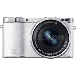 NX3000 20.3MP 1080p HD Mirrorless with 16-50mm Lens - White - OPEN BOX