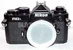 FM3A CAMERA  BLACK SLR  BODY with Nikon usa warranty