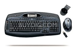 Cordless Desktop MX5000 Laser Mouse and Keyboard