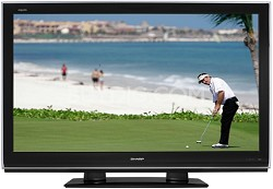 "LC-46D82U - AQUOS 46"" High-definition 1080p LCD TV"