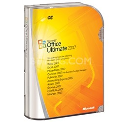 Microsoft Office Ultimate 2007 - Upgrade