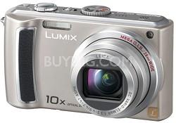 DMC-TZ4S - 8.1 Megapixel Digital Camera (Silver) w/ 2.5- inch LCD