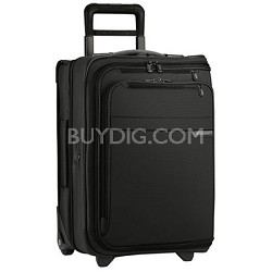 "U175-4  Baseline 21"" Domestic Carry-On Upright Garment Bag - Black"