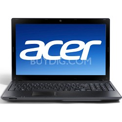 "Aspire AS5742-6580 15.6"" Notebook PC - Intel Core i3-370M Processor"