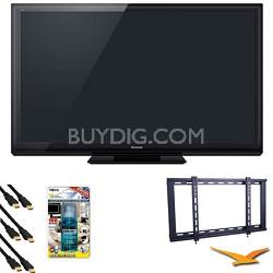 """TC-P60ST30 60"""" VIERA 3D FULL HD (1080p) Plasma TV HDTV Bundle"""