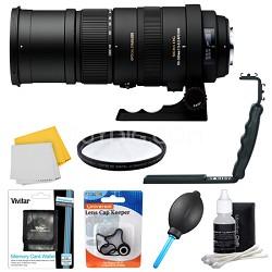 150-500mm F/5-6.3 APO DG OS HSM Autofocus Lens For Sigma - Pro Lens Kit