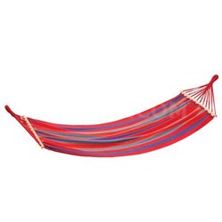 """Bahamas"" Single Cotton Hammock in Red - 30800-60"