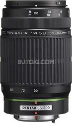 DA L 55-300mm f/4-5.8 ED Lens for Pentax and Samsung Digital SLR Cameras