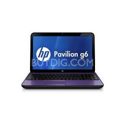"Pavilion 15.6"" g6-2033nr Notebook PC - Intel Core i3-2350M Processor"