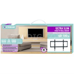 Ultra Slim Low Profile Flat Wall Mount for 60-100 Inch TVs