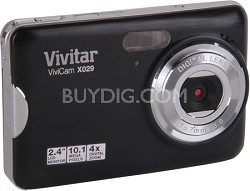 ViviCam VX029 10.1 MP HD Digital Camera (Black)