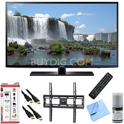 UN60J6200 - 60-Inch Full HD 1080p 120hz Smart LED HDTV Mount & Hook-Up Bundle
