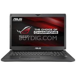 ROG G750JZ-XS72 17.3-inch Intel Core i7-4700HQ 3.4GHz Gaming Laptop - OPEN BOX