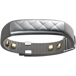 UP3 Heart Rate Activity and Sleep Tracker Silver Cross (Gray) - JL04-0101ACA-US