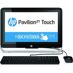 "Pavilion TouchSmart 21.5"" HD 21-h010 All-In-One PC - AMD Quad-Core A4-5000 Proc."