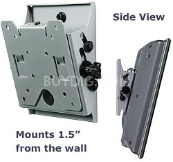 "Flat + Tilt Smart Mount  for 10"" to 24"" LCDs (Silver) - OPEN BOX"