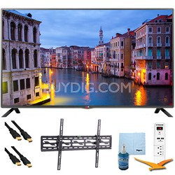 39LB5600 - 39-Inch Full HD 1080p LED HDTV Plus Tilt Mount & Hook-Up Bundle