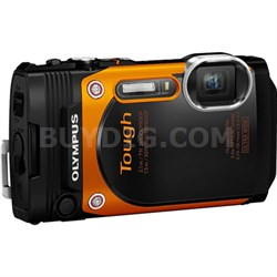 TG-860 Tough Waterproof 16MP 1080P WiFi Digital Camera (Orange) Refurbished