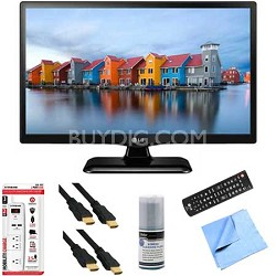 22LF4520 - 22-Inch 1080p Full HD 60Hz LED TV Plus Hook-Up Bundle