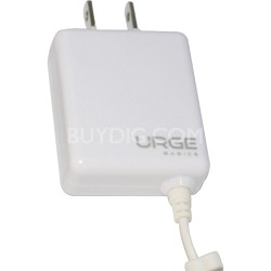 URGE Basics Folding Blade Compact Wall Charger iPhone 4 - White